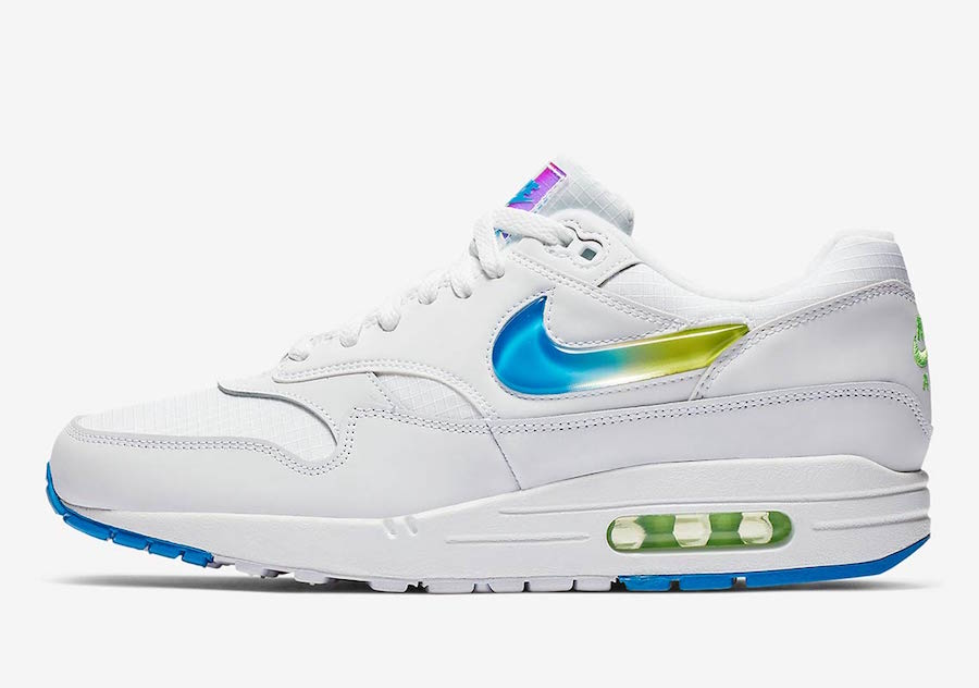 Nike Air Max 1 Jewel AO1021-101 Release Date