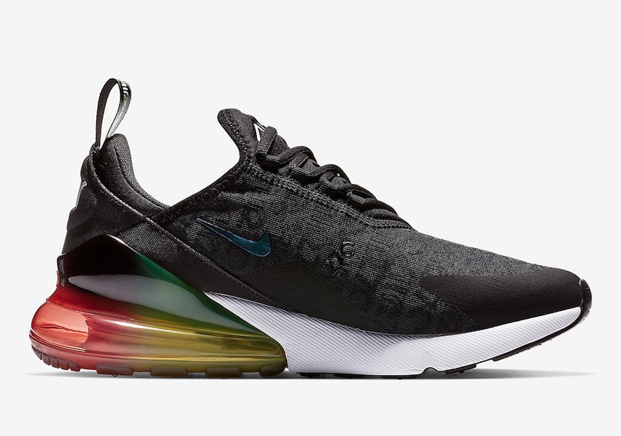 Nike Air Max 270 Black Multi-Color AQ9164-003 Release Date