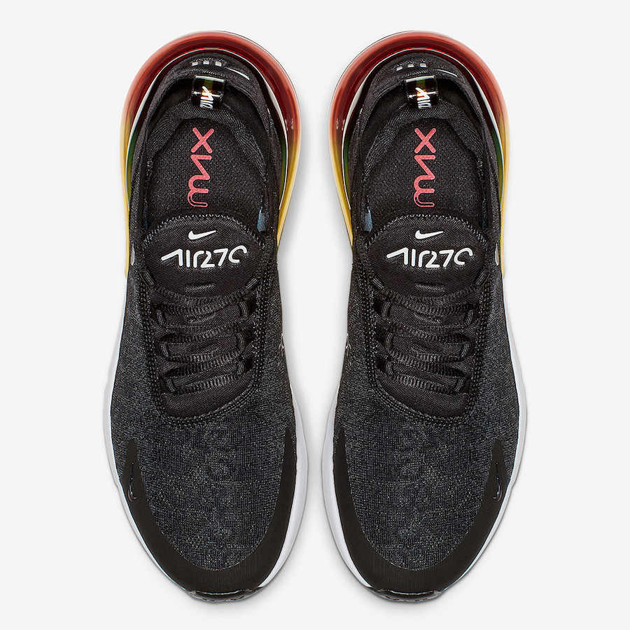 Nike Air Max 270 Black Multi-Color AQ9164-003 Release Date