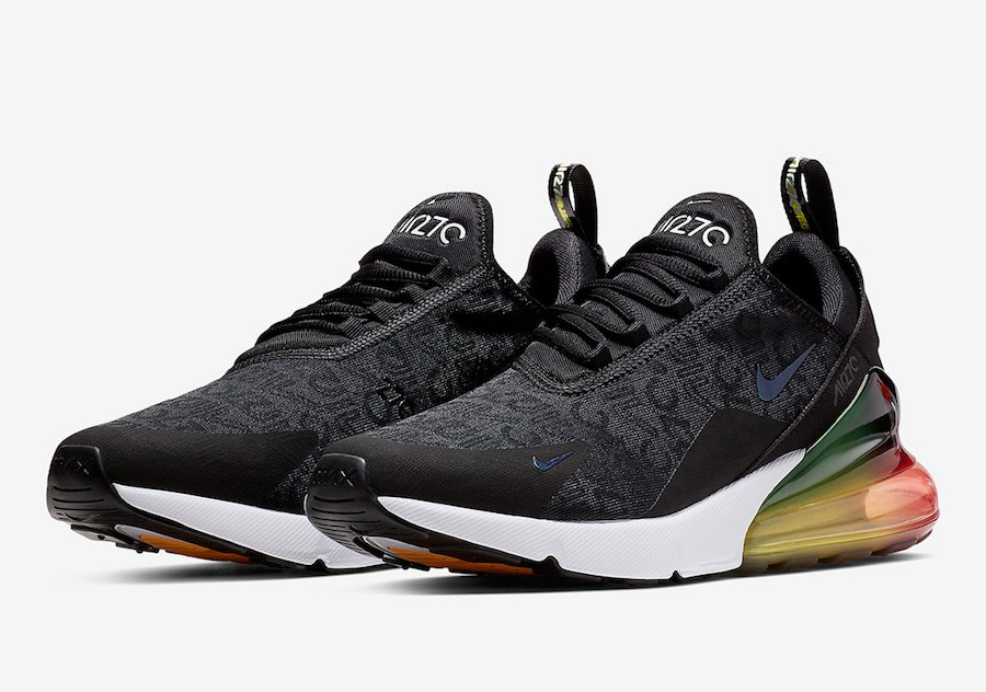 best service 1bee3 f5ff4 Nike Air Max 270 Black Multi-Color AQ9164-003 Release Date ...