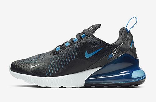 Nike Air Max 270 Black Photo Blue AH8050-019