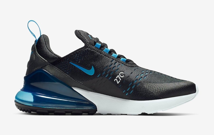 Nike Air Max 270 Black Photo Blue AH8050-019 Release Date