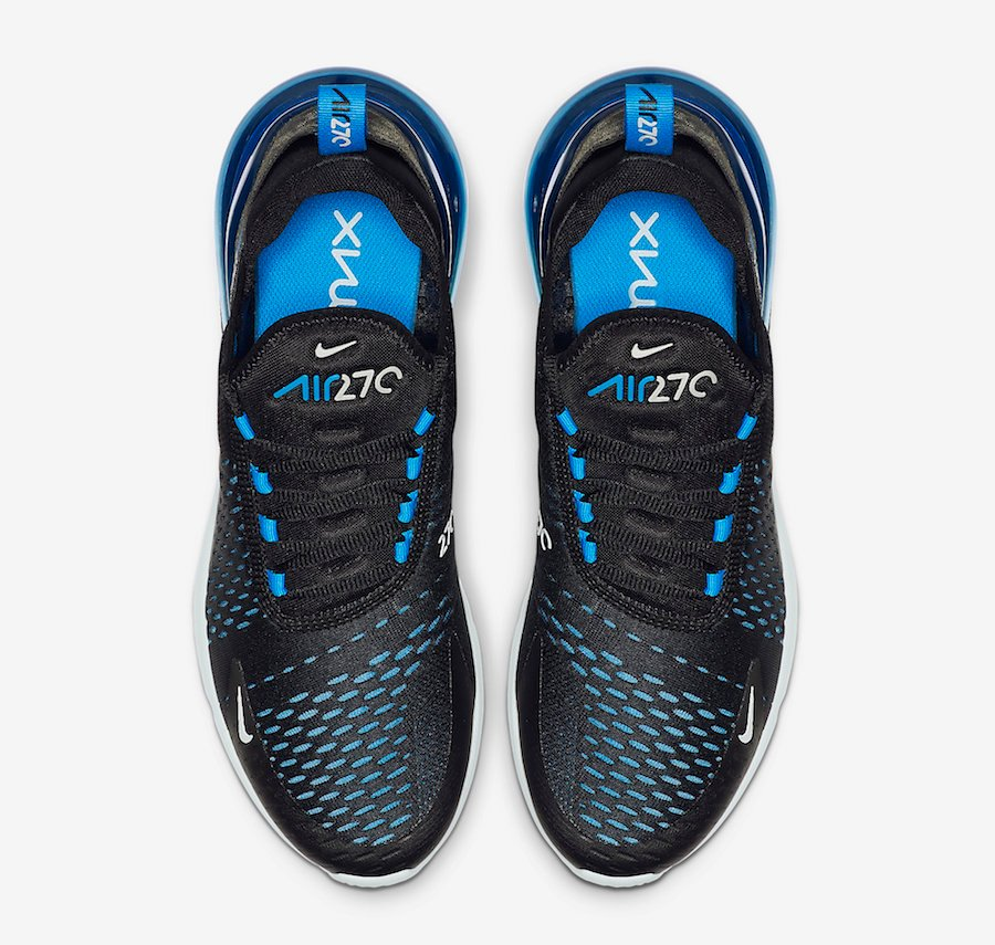 Nike Air Max 270 Black Photo Blue Ah8050 019 Release Date
