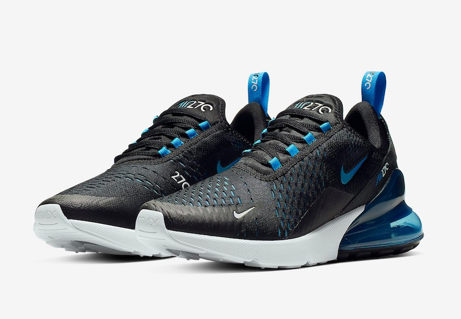 pre order fashion new collection Nike Air Max 270 Black Photo Blue AH8050-019 Release Date ...