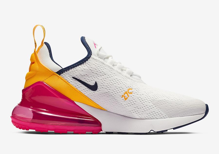 49e060c65cd36 Nike Air Max 270 Laser Fuchsia AH6789-106 Release Date | SneakerFiles