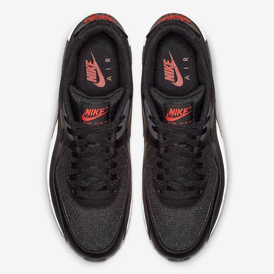 Nike Air Max 90 Black Habanero Red CD1526-001 Release Date