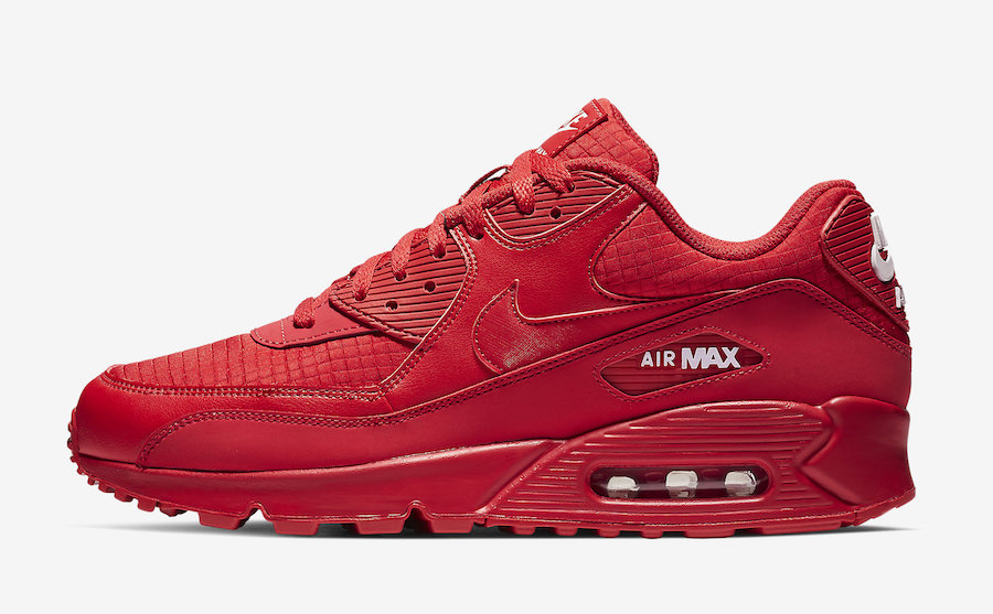 Nike Air Max 90 Essential University Red AJ1285-602 Release Date