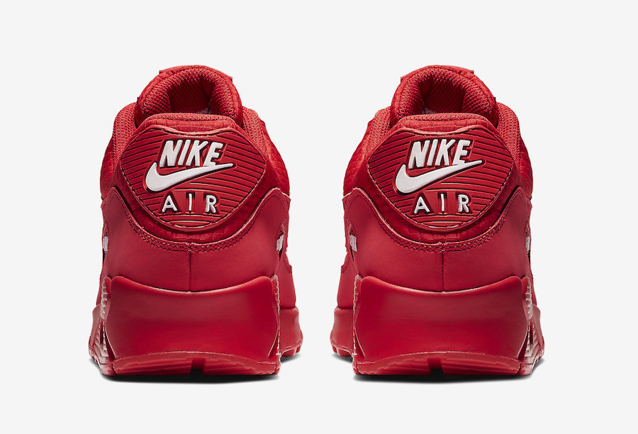 Nike Air Max 90 Essential University Red AJ1285-602 Release Date