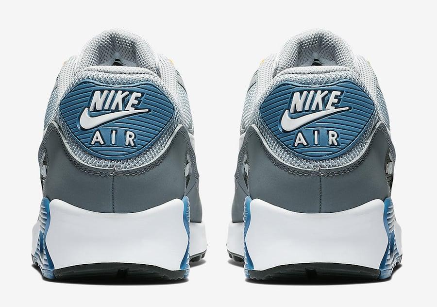 Nike Air Max 90 Wolf Grey Indigo Storm AJ1285-016 Release Date