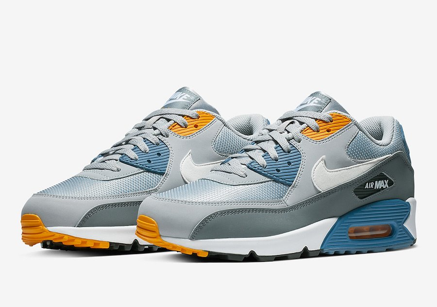 best website 12d7e 15da5 Nike Air Max 90 Wolf Grey Indigo Storm AJ1285-016 Release Date