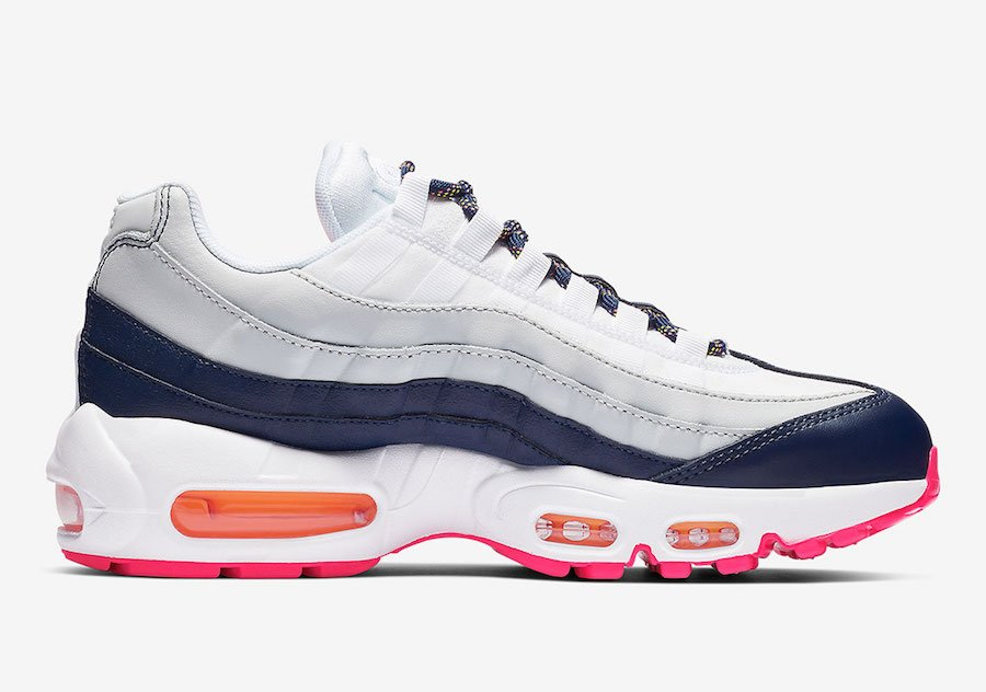 Nike Air Max 95 Midnight Navy Laser Orange 307960-405 Release Date