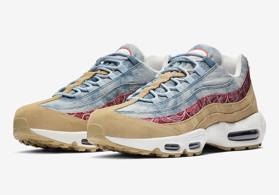 online store aa9c4 86f7c Nike Air Max 95 Wild West BV6059-200 Release Date | SneakerFiles