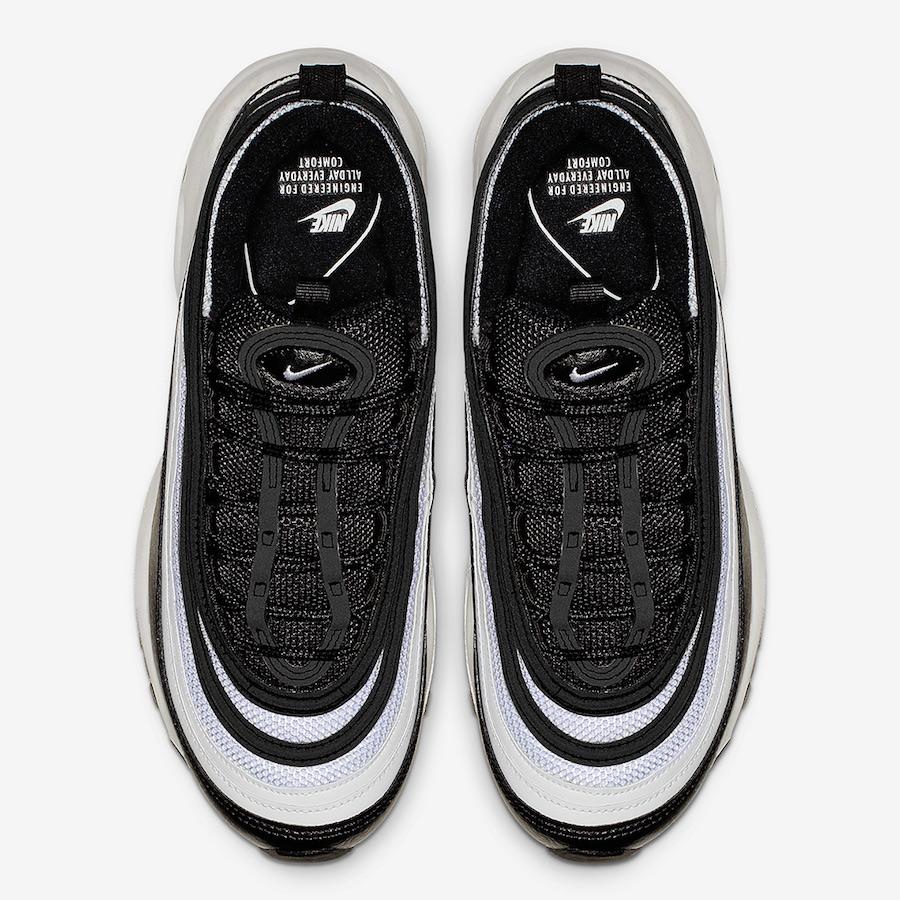 Nike Air Max 97 Black White 921733-016 Release Date