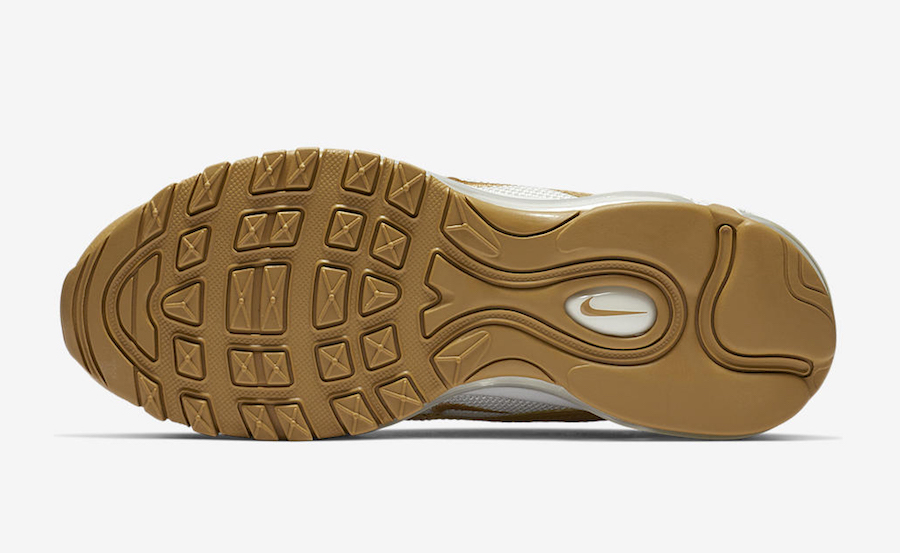 Nike Air Max 97 Wheat Club Gold 921733-702 Release Date