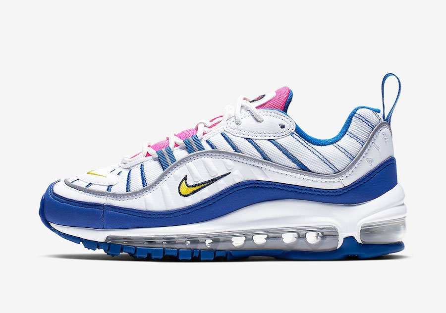 Nike Air Max 98 Pink Tongues BV4872 101 Release Date
