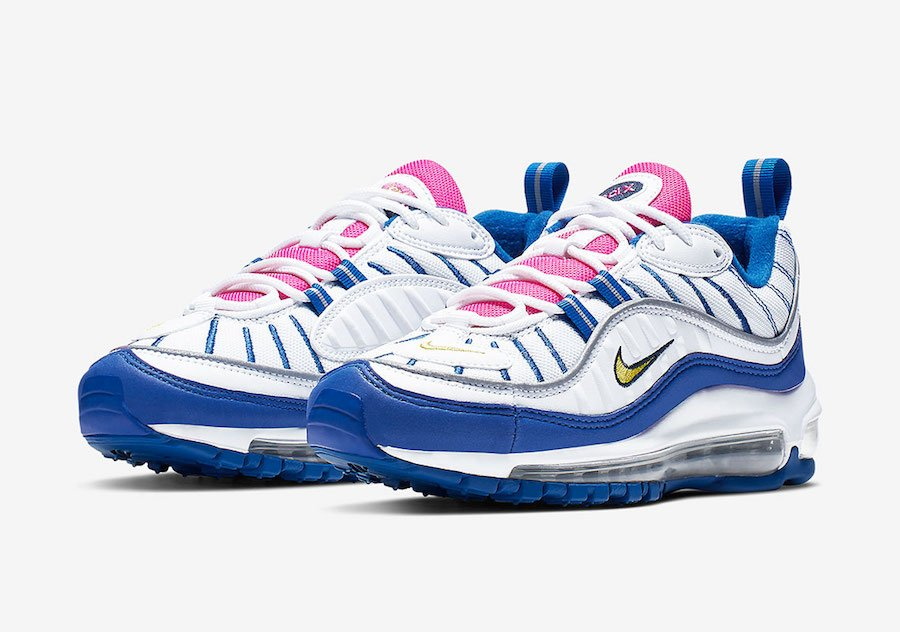 2c1115808f Nike Air Max 98 Pink Tongues BV4872-101 Release Date | SneakerFiles