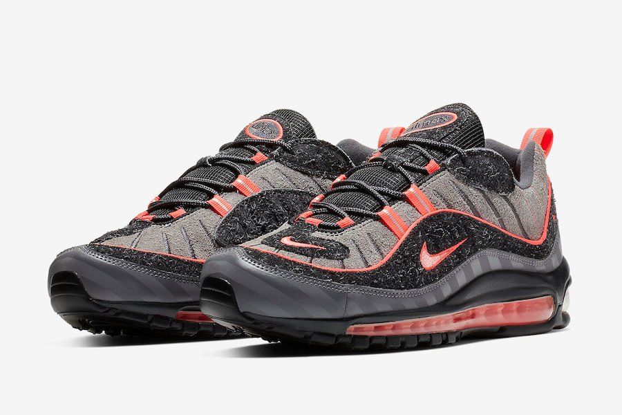Nike Air Max 98 I 95 Lava Glow Bv6046 001 Release Date Sneakerfiles