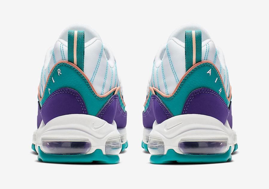 nike air max 98 purple teal