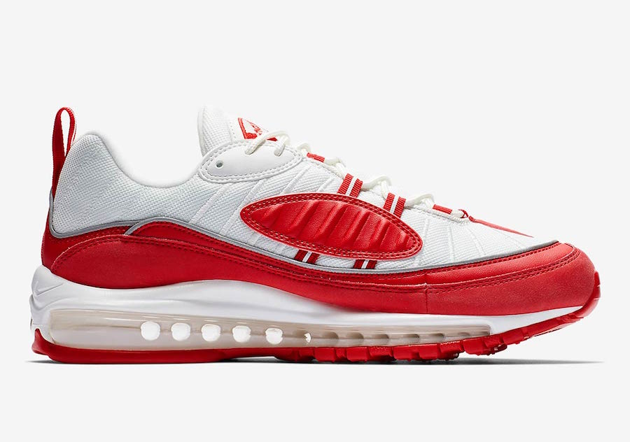 Nike Air Max 98 University Red 640744-602 Release Date