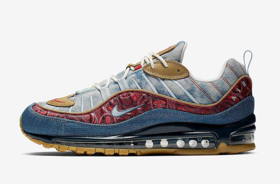 Nike Air Max 98 Wild West BV6045-400 Release Date