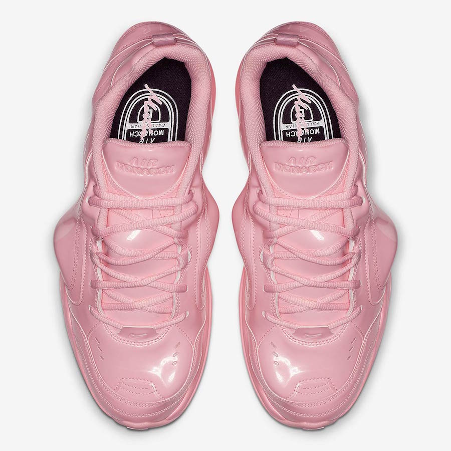 Nike Air Monarch 4 Martine Rose Pink AT3147-600 Release Date