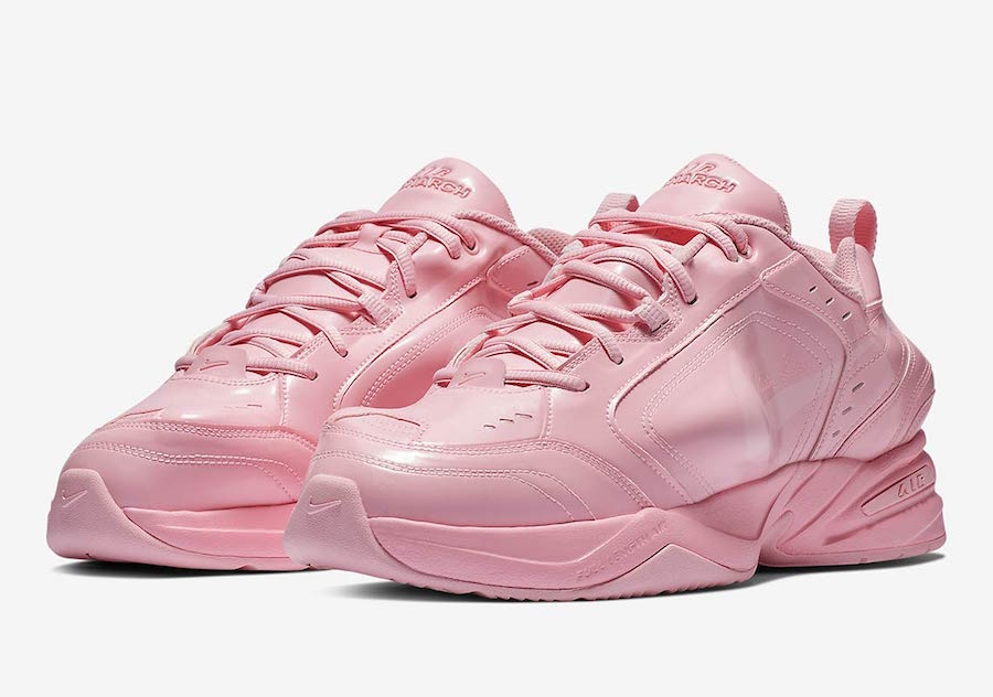 67e75b96458f Nike Air Monarch 4 Martine Rose Pink AT3147-600 Release Date
