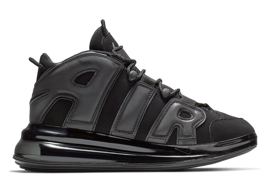 Nike Air More Uptempo 720 Black Release Date