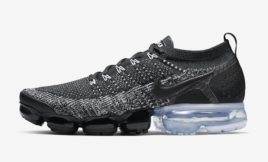 Nike Air VaporMax 2.0 Oreo Black White 942842-016 Release Date