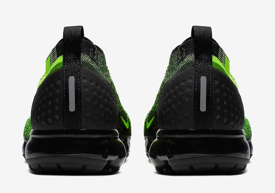 Nike Air VaporMax 2 Neon Green Black 942842-701 Release Date