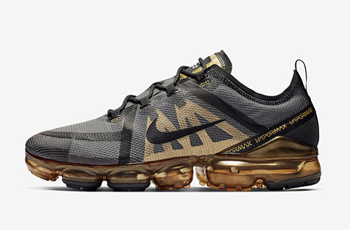 Nike Air VaporMax 2019 Black Gold AR6631-002