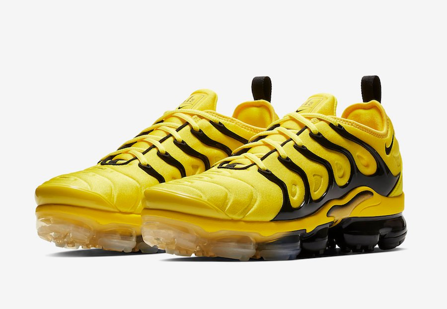 save off bf509 d9790 Nike Air VaporMax Plus Yellow Black BV6079-700 Release Date ...