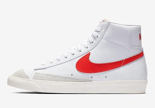 Nike Blazer Mid 77 Vintage Habanero Red