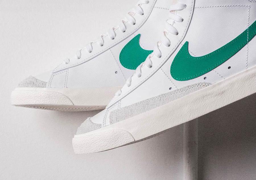 Nike Blazer Mid 77 Vintage Lucid Green BQ6806-300 Release Date