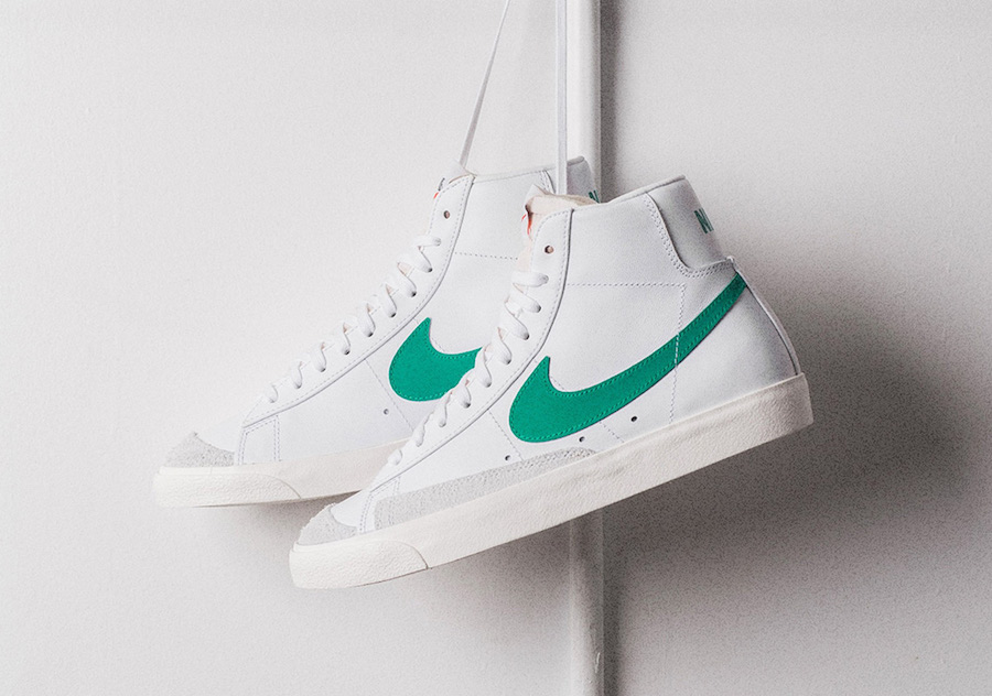 latest design good service footwear Nike Blazer Mid 77 Vintage Lucid Green BQ6806-300 Release ...