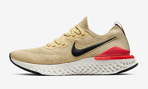 Nike Epic React Flyknit 2 Club Gold