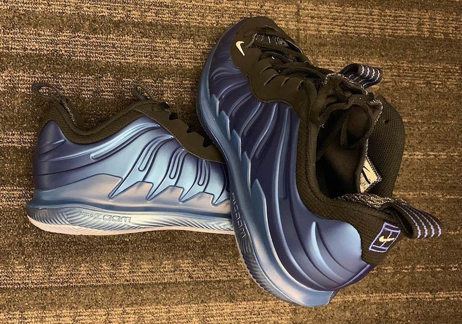 59c3c73cd57 Nike Foamposite Vapor X Royal Blue Tennis Shoe Release Date