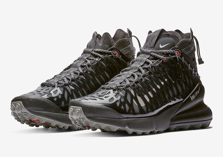 Nike ISPA Air Max 270 SP SOE Black Anthracite BQ1918-002 Release Date