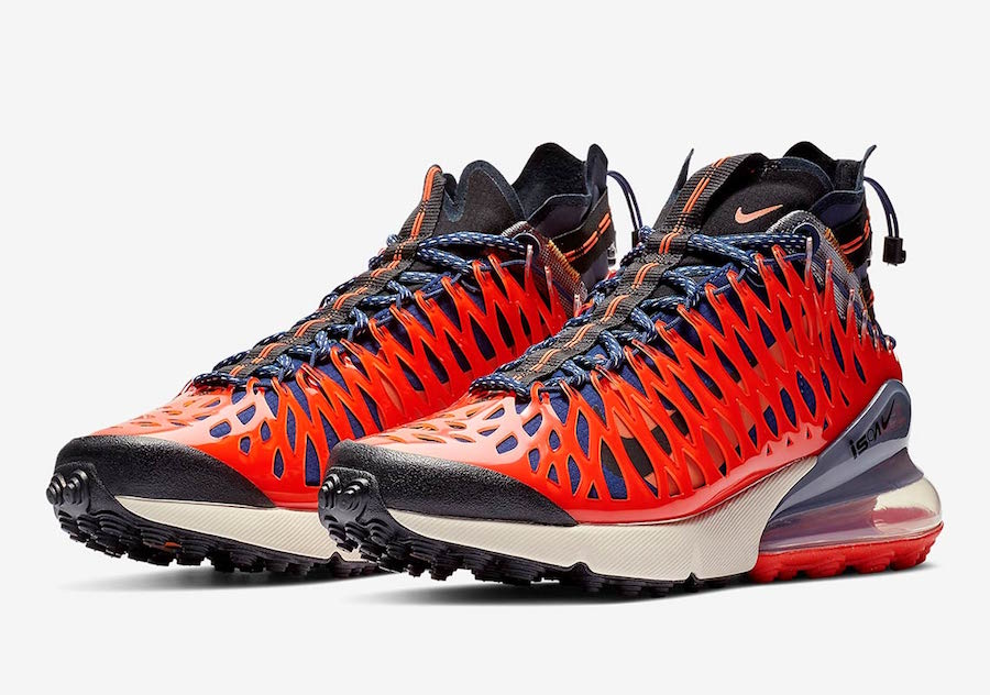 Nike ISPA Air Max 270 SP SOE Terra Orange BQ1918 400 Release