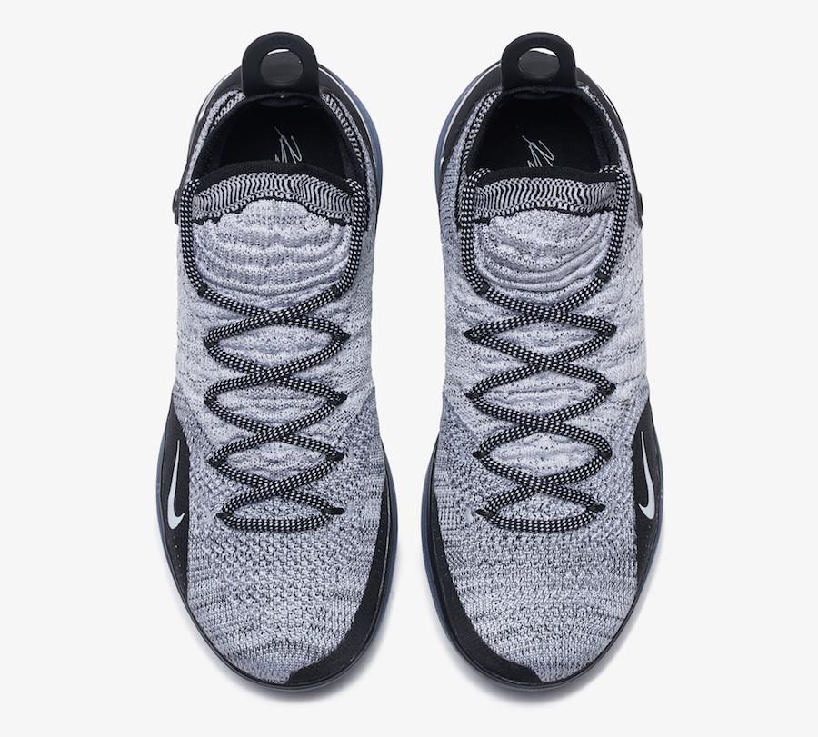 Nike KD 11 Black White Racer Blue AO2604-006 Release Date
