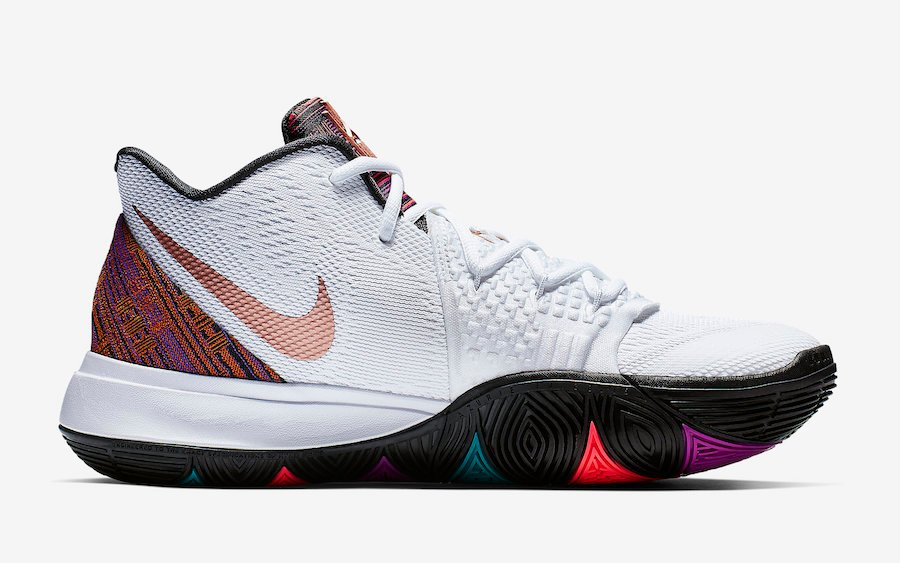 Nike Kyrie 5 BHM Black History Month BQ6237-100 Release Date