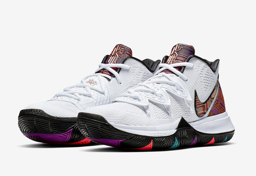 4a3deb32758857 Nike Kyrie 5 BHM Black History Month BQ6237-100 Release Date ...