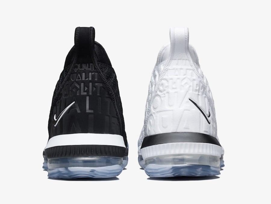 Nike LeBron 16 Equality Rise Above BQ5969-100 BQ5969-101 Release Date Price