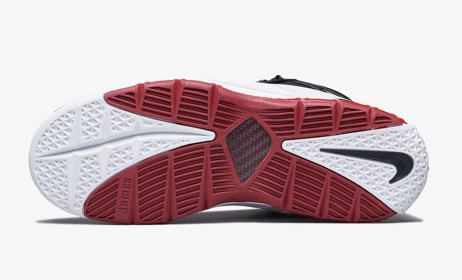 Nike LeBron 3 Home White Black Varsity Crimson AO2434-101 Release Date