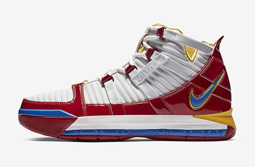Nike LeBron 3 SuperBron SuperMan AO2434-100