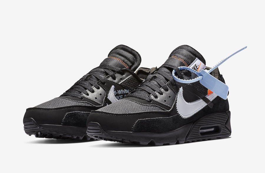 Nike Off-White Air Max 90 Black AA7293-001 Release Date Price