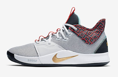 dca440eb5a7 Nike PG 3  BHM  Color  Pure Platinum Metallic Gold Release Date  February  1