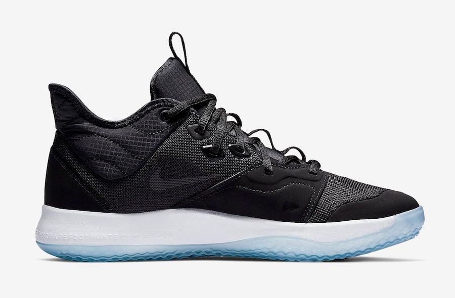 Nike PG 3 Black White AO2607-001 Release Date