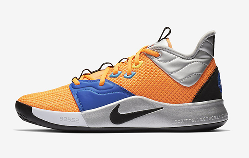 newest 91ecf 40225 Nike PG 3  NASA  Color  Total Orange Black-Metallic Silver Release Date   January 26, 2019. Style Number  CI2666-800. Price   120