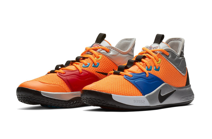 Nike PG 3 NASA Total Orange AO2607-800 Release Date