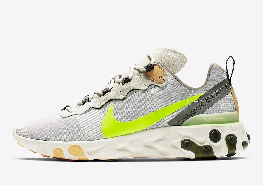 Nike React Element 55 BQ6166-009 Release Date